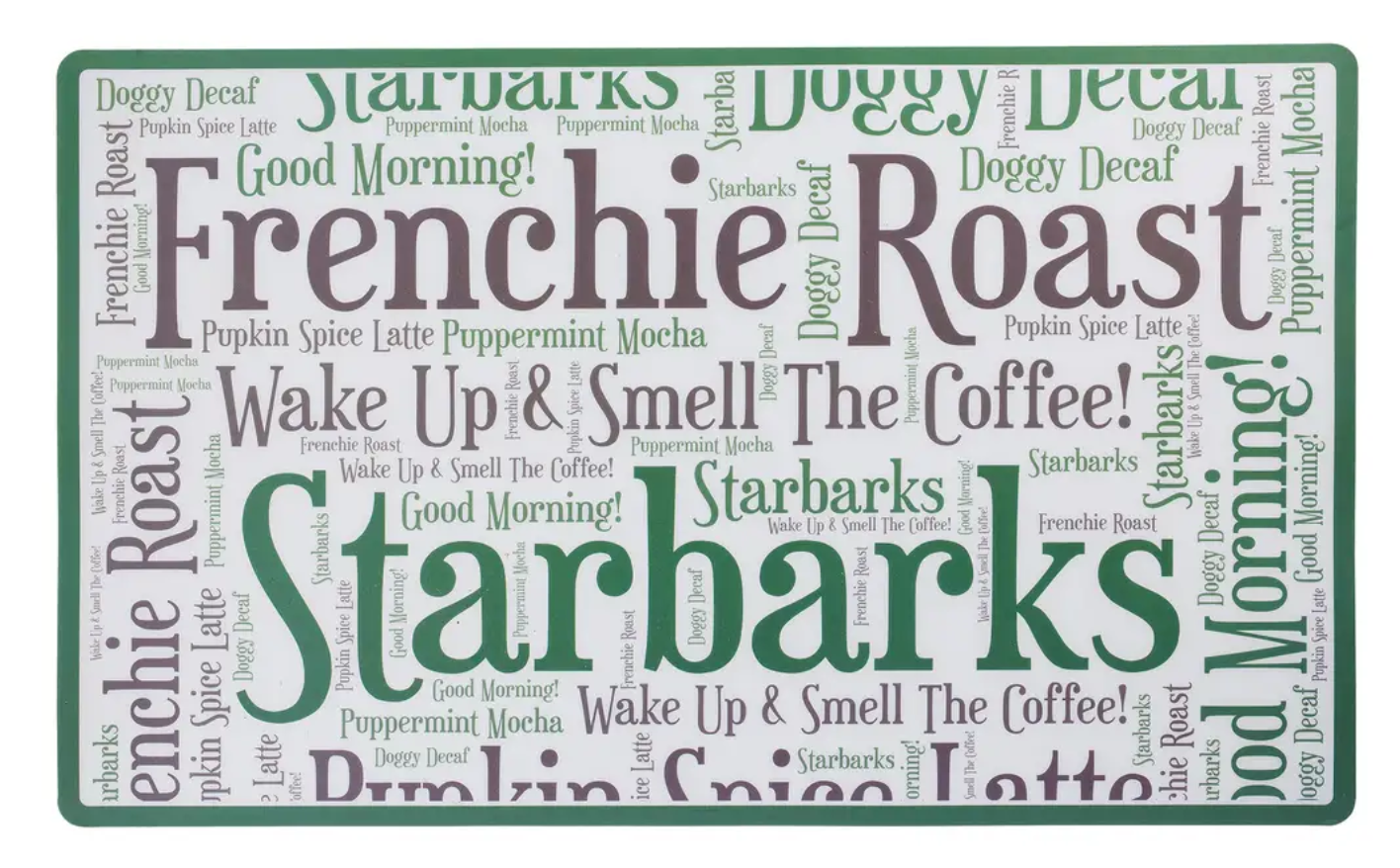 Frenchy Roast Placemat