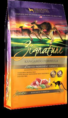 Zignature LID Kangaroo Dog Food