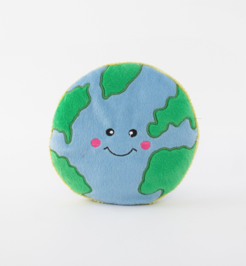 Earth Squeaky Toy