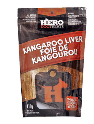 Kangaroo Liver Treats - Hero Dog Treats
