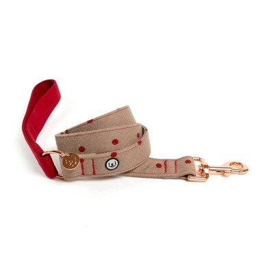Berry Polka Leash - EPW