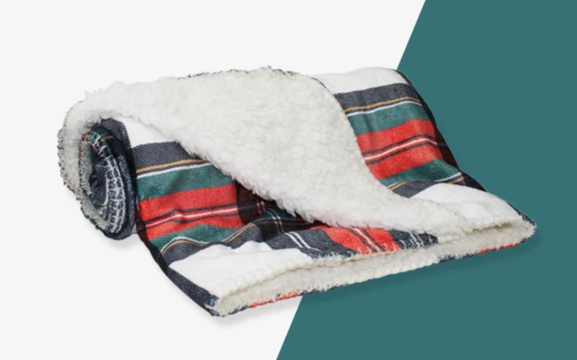 Tartan Doggie Blanket