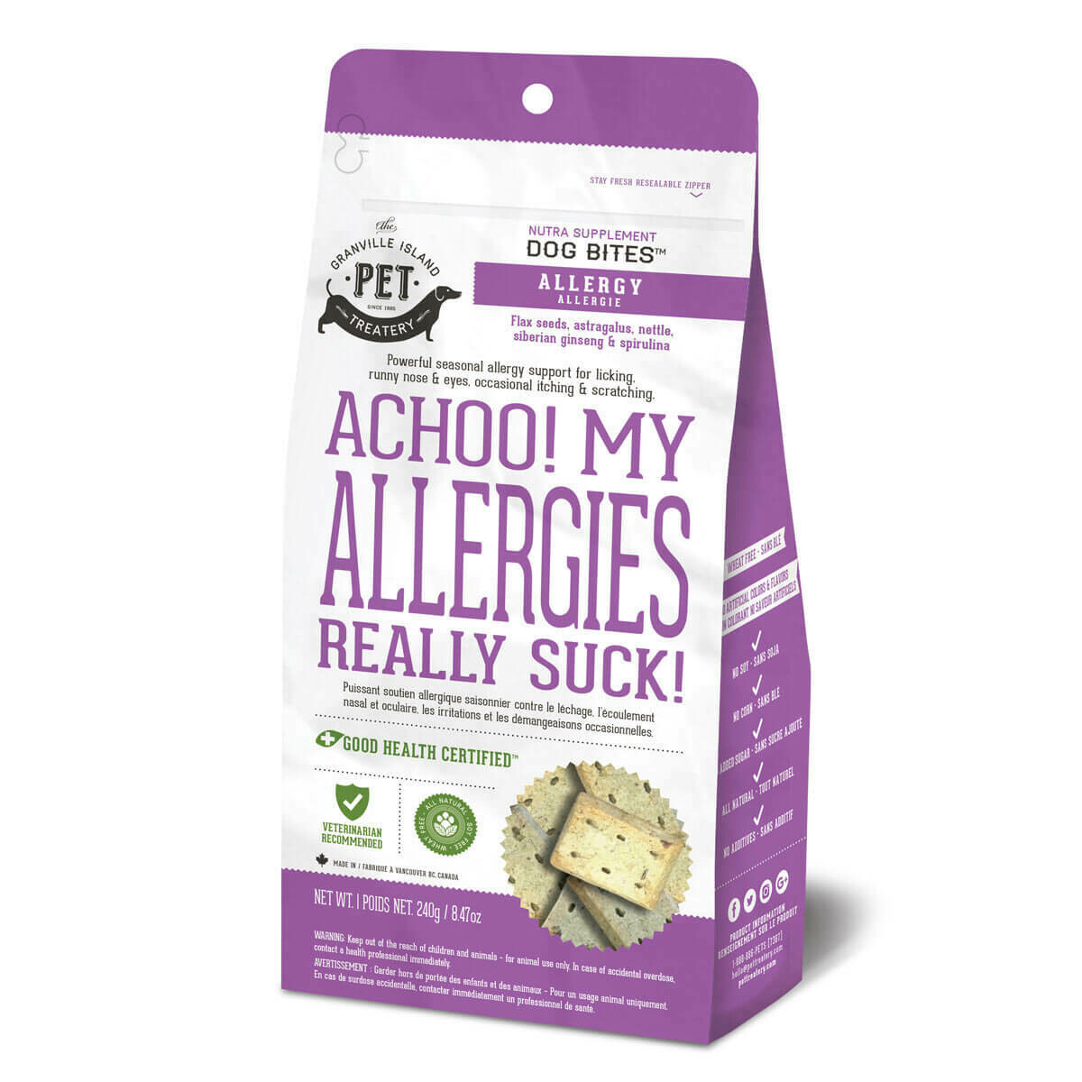 Achoo My Allergies Really Suck! - Granville Pet Treatery
