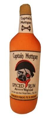 Captain Muttgan Bottle Toy