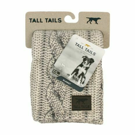 Cable Knit Blanket - Tall Tails