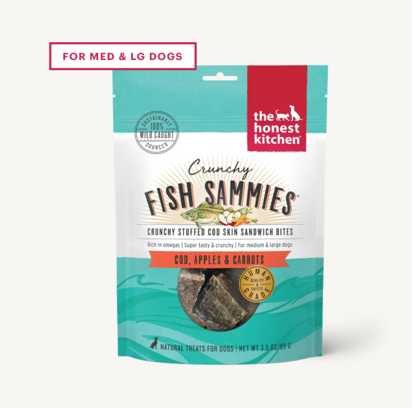 Cod Stuffed w/Carrots & Apples Crunchy Fish Sammies - The Honest Kitchen