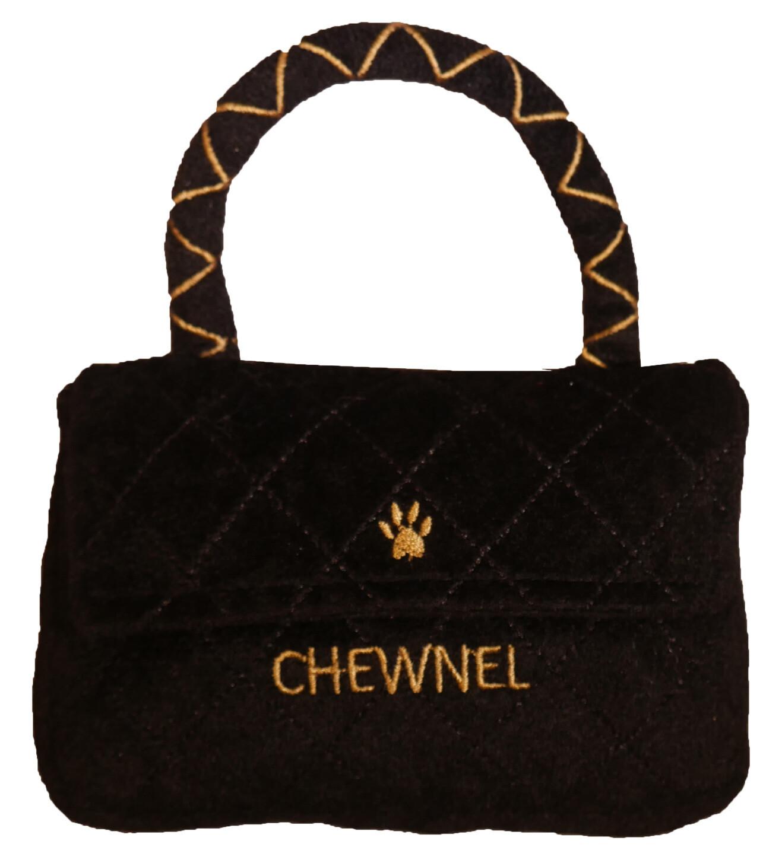 Chewnel Classique Black Purse Toy