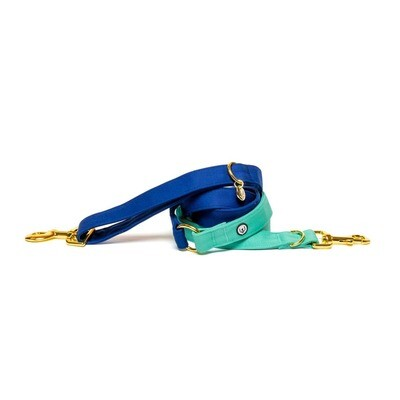 Blue Seafoam Convertible Leash - EPW