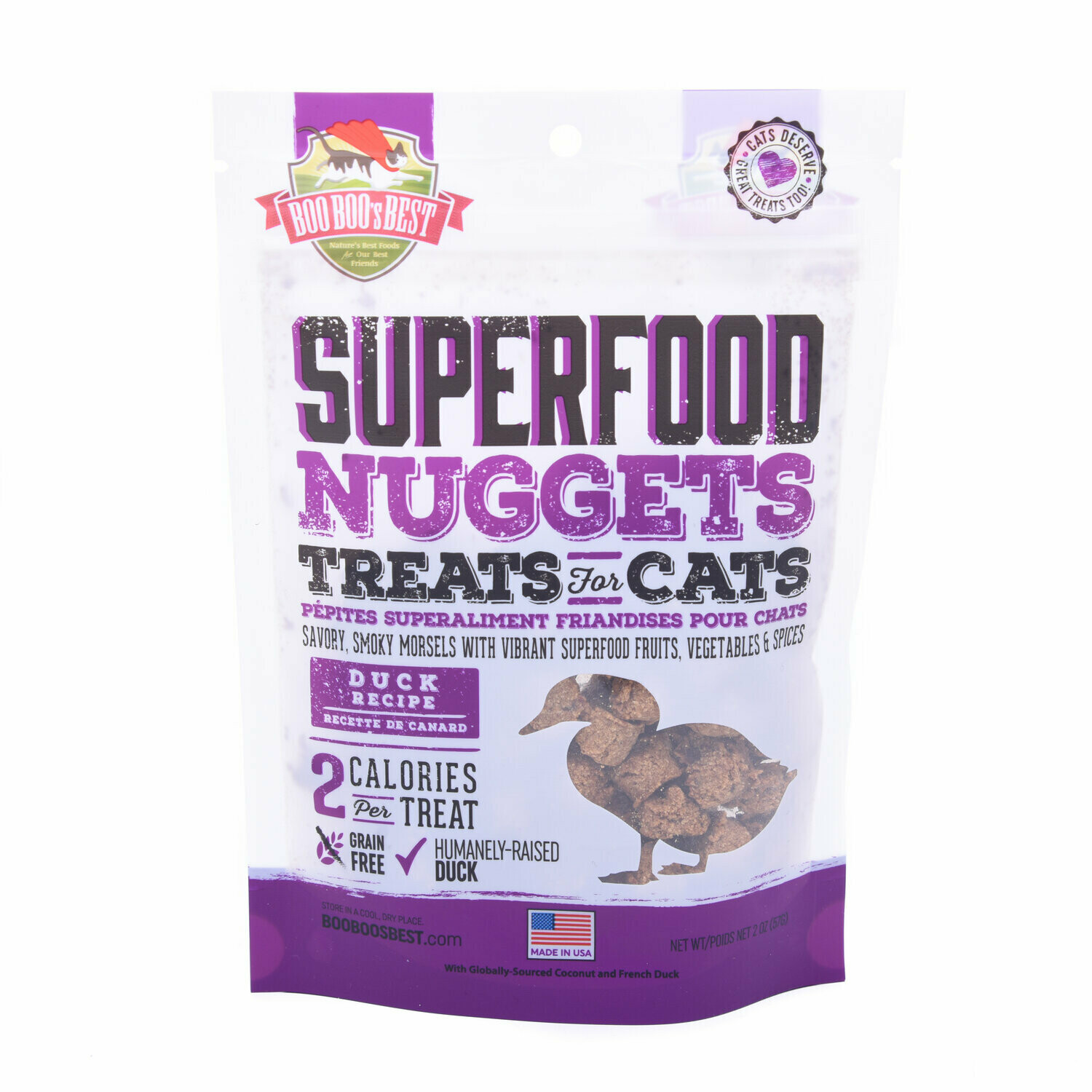 Duck Superfood Nuggets Cat Treats