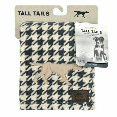 Houndstooth Blanket - Tall Tails