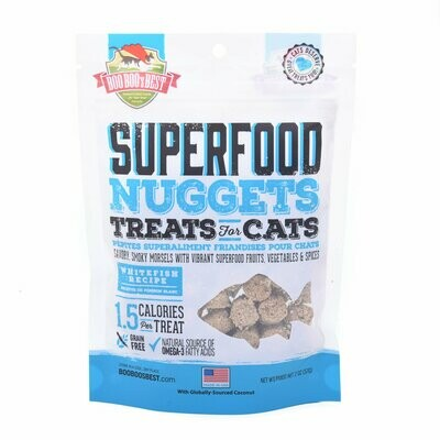 Whitefish Superfood Nuggets Cat Treats