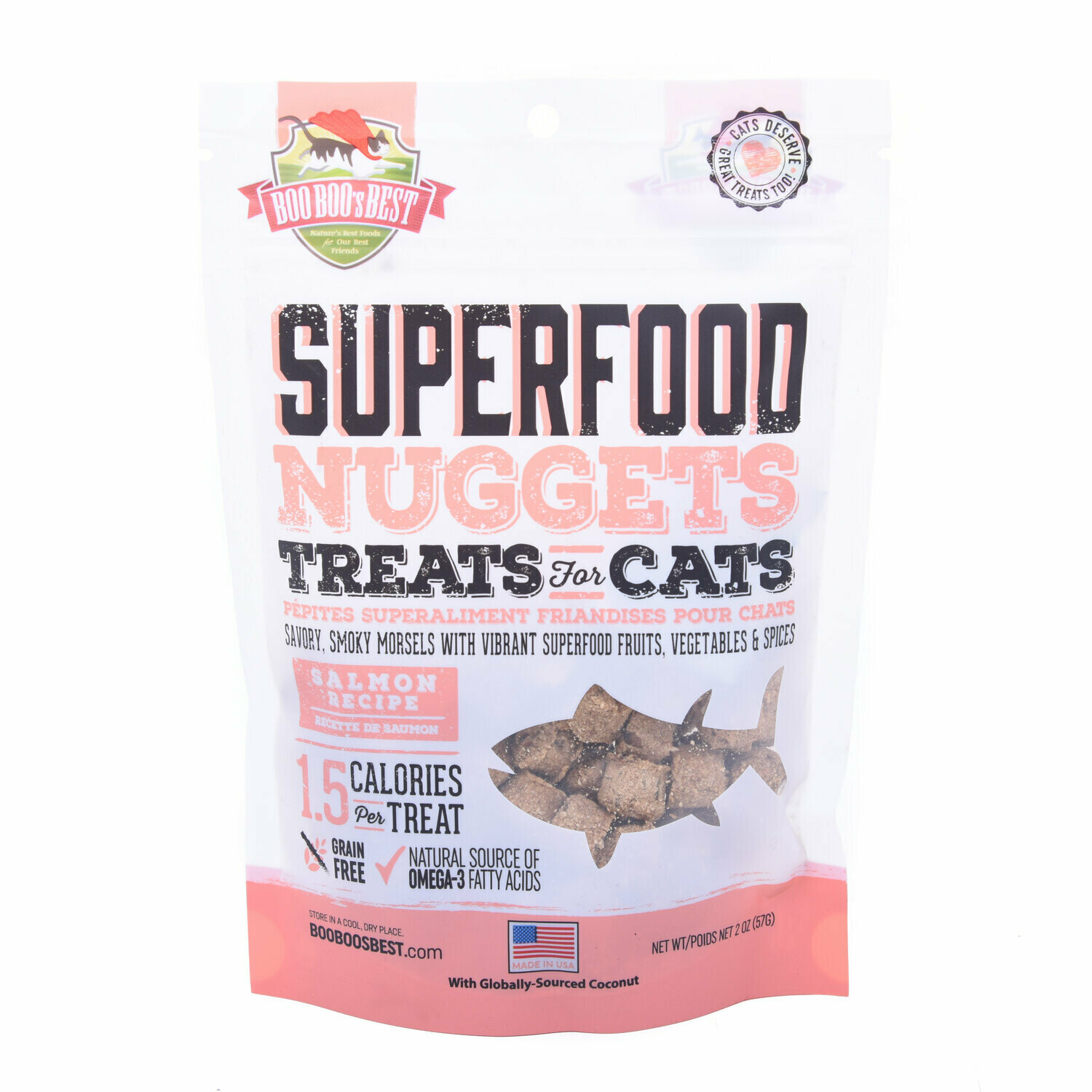 Salmon Superfood Nuggets Cat Treats