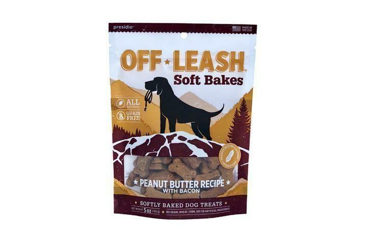 Off Leash Soft Bakes - Peanut Butter & Bacon