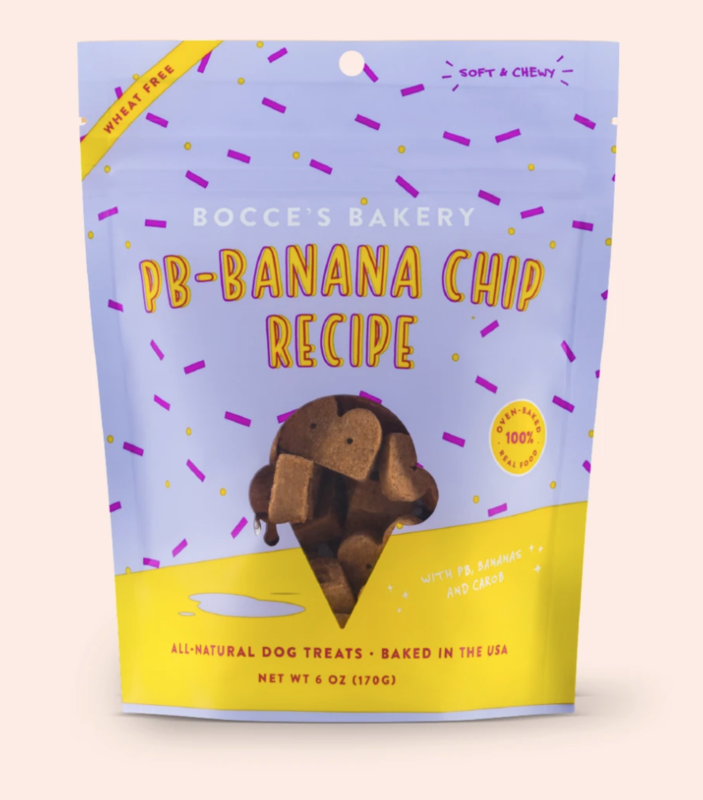 Peanut Butter Banana Chip - Soft & Chewy - BOCCE'S
