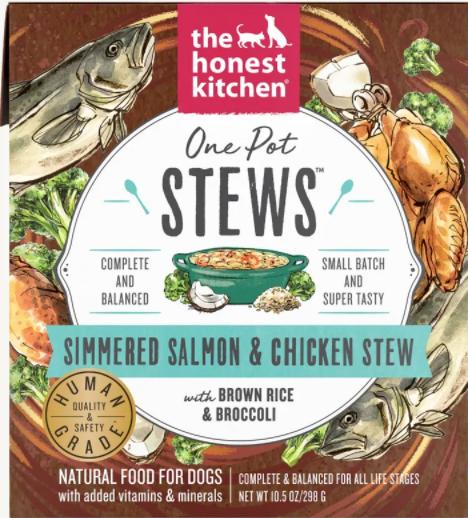 Salmon & Chicken Stew - The Honest Kitchen
