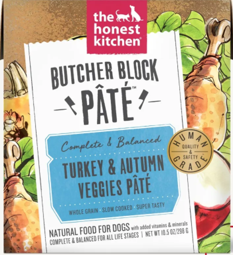 Turkey & Veggie Pate Butcher Block - The Honest Kitchen