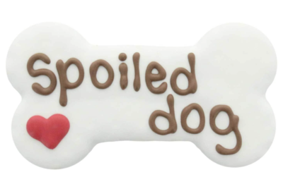 Spoiled Dog Bone Cookie