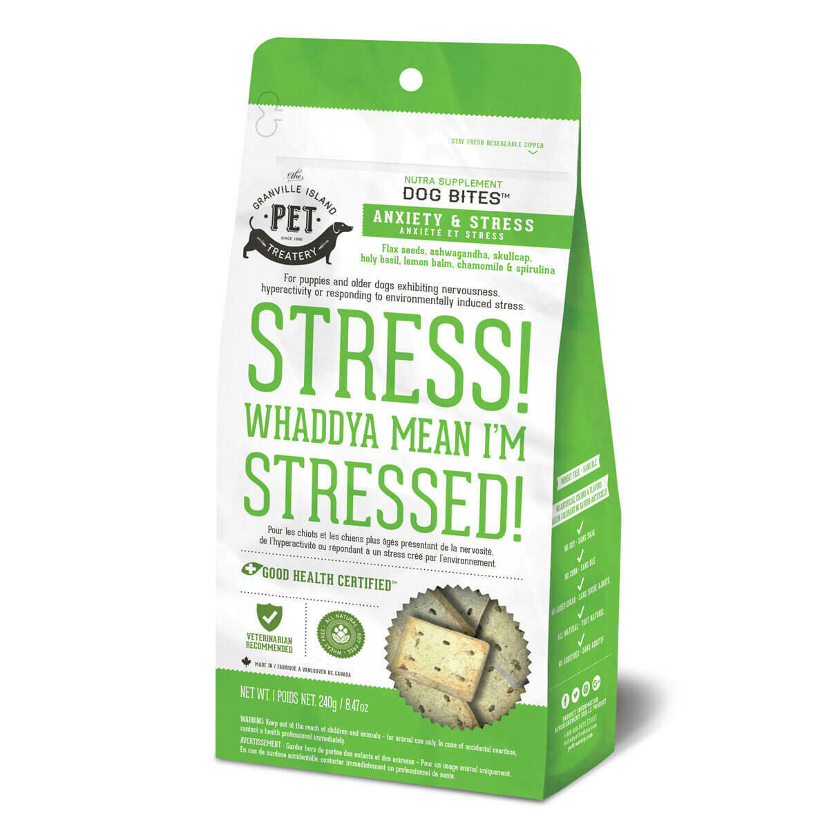 Stress! Whaddya Mean I'm Stressed! - Granville Pet Treatery