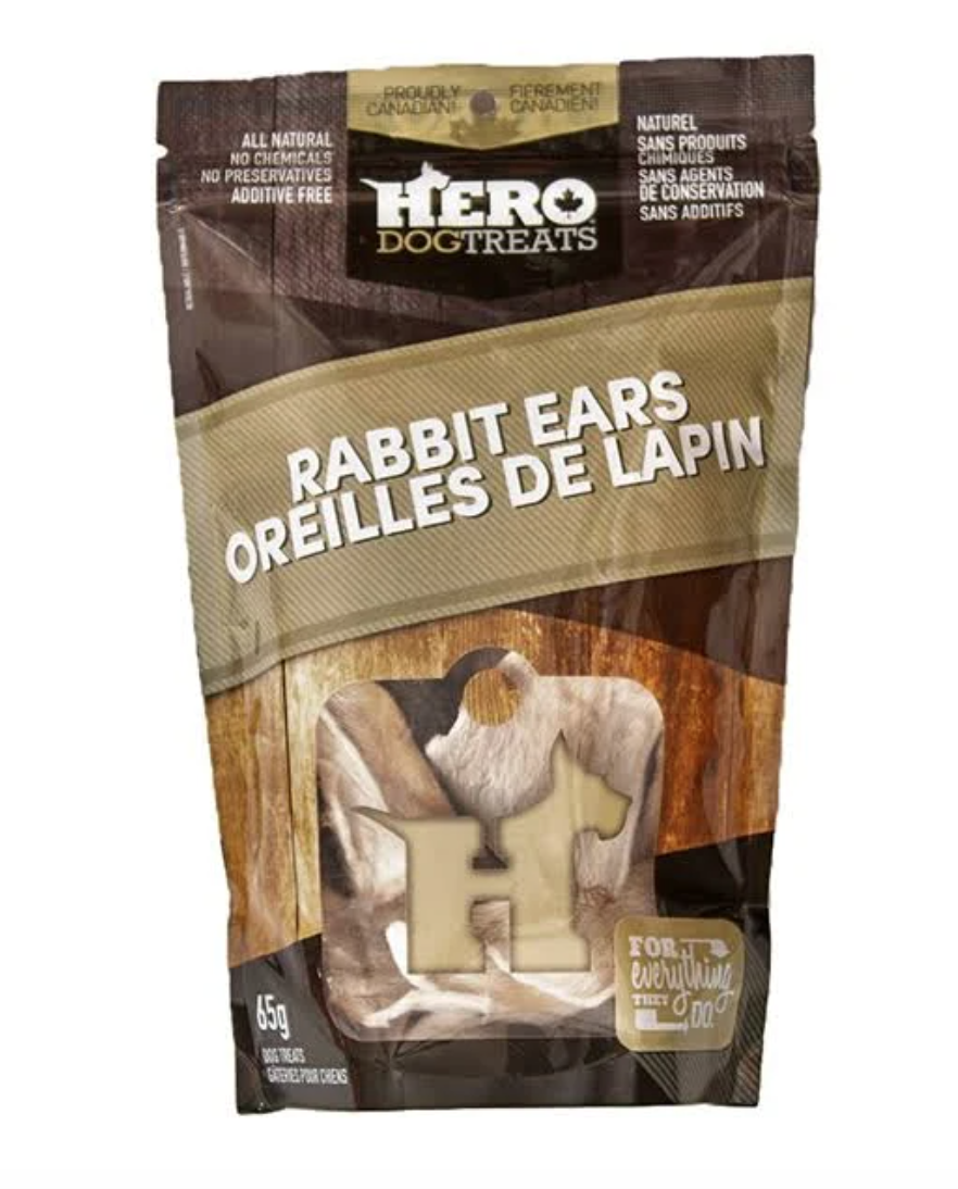 Rabbit Ears - Hero Dog Treats