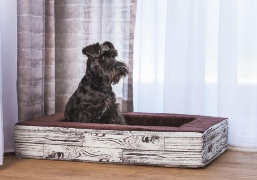 Wood Log Contour Bed