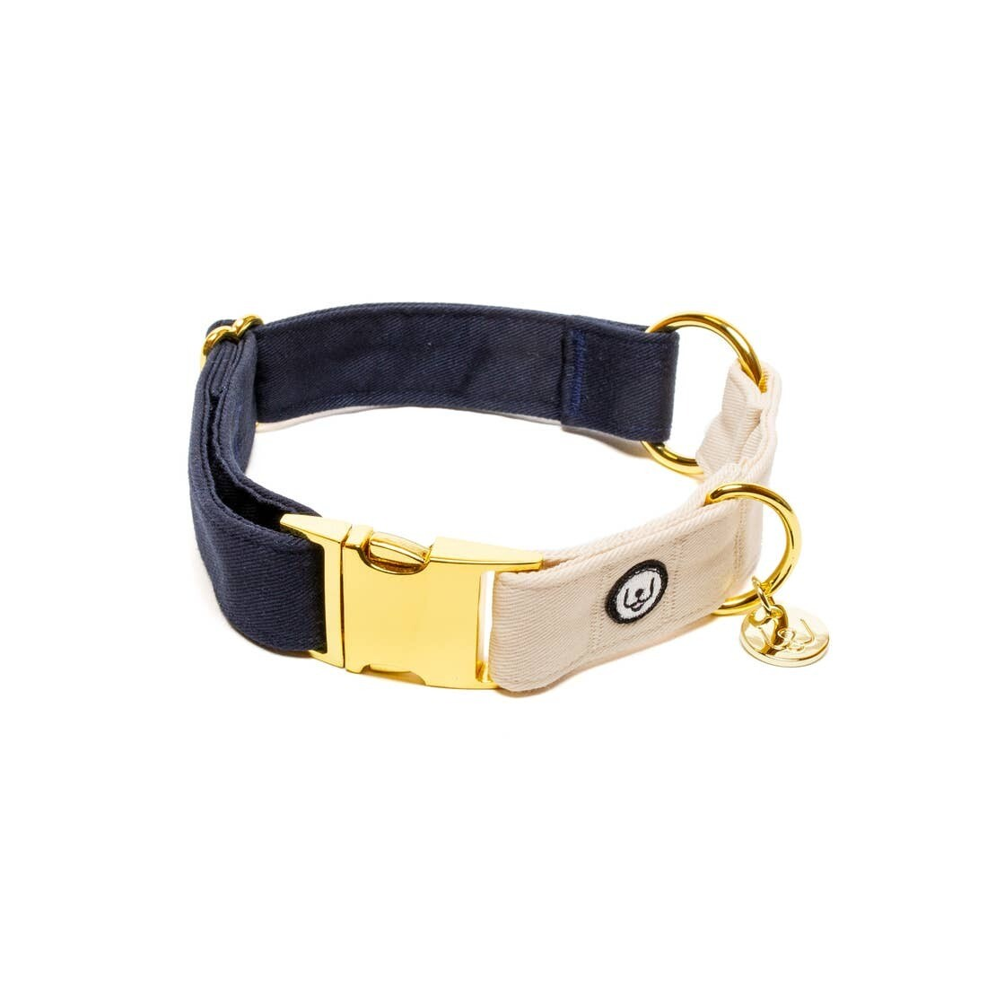 Navy Ivory Collar - EPW