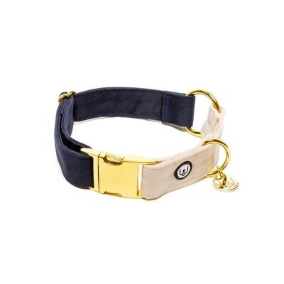 Navy Ivory Collar - EPW