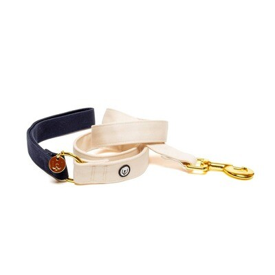 Navy & Ivory Leash - EPW