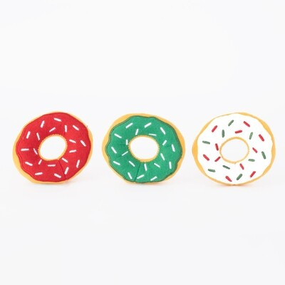 Mini XMas Donut Toy