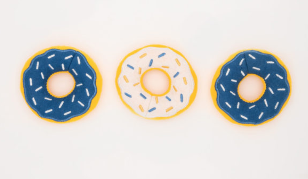 Mini Hanukkah Donut Toy