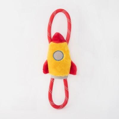 Spaceship Rope Toy
