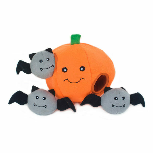 Pumpkin with Bats Hide & Seek Toy
