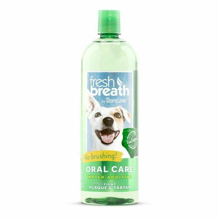 Fresh Breath Water Additive Dog - TropiClean