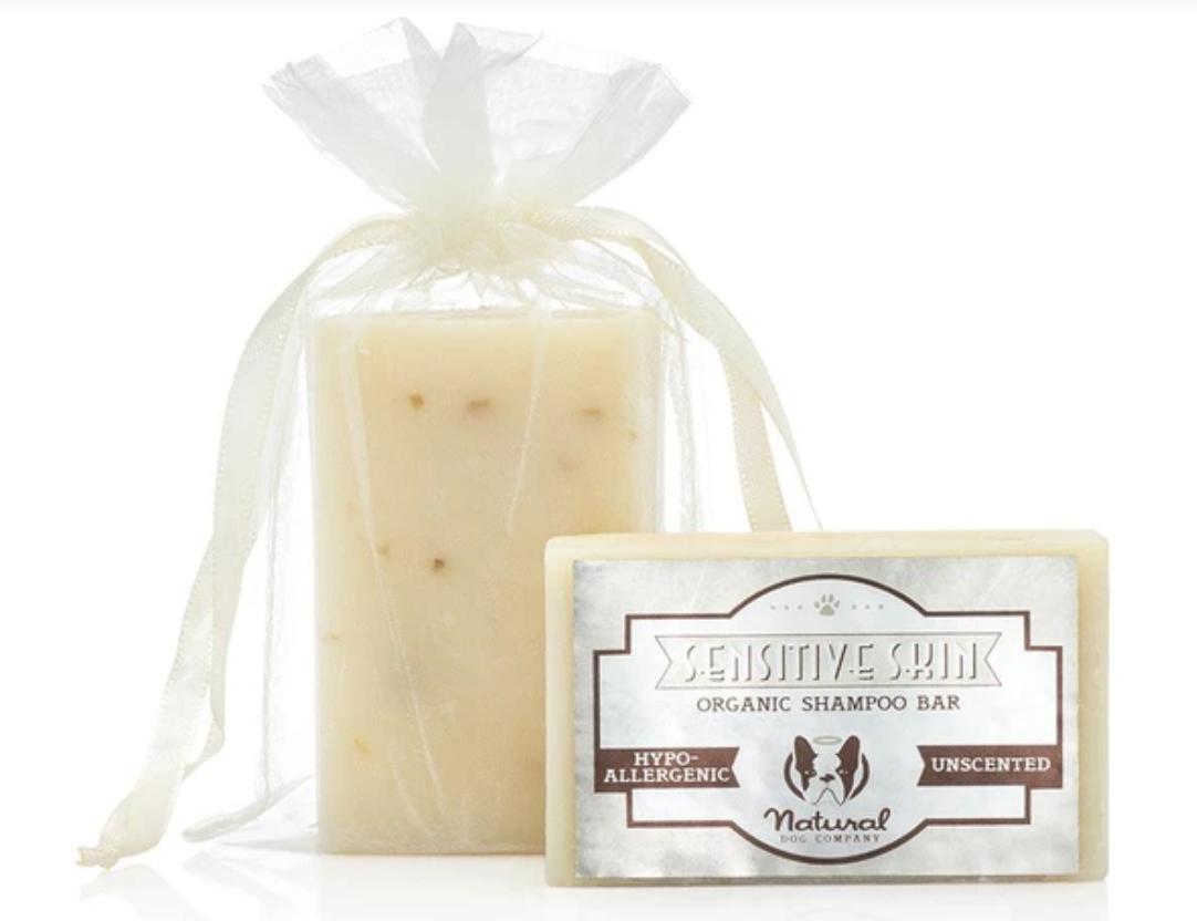 Sensitive Skin Shampoo Bar - Natural Dog Company