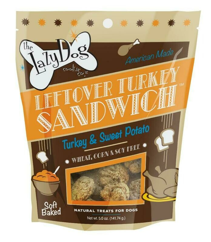 Left Over Turkey Sandwich - The Lazy Dog