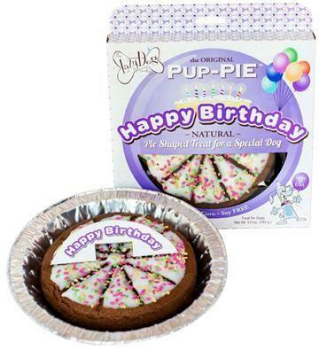 Happy Birthday Pup Pie - Purple