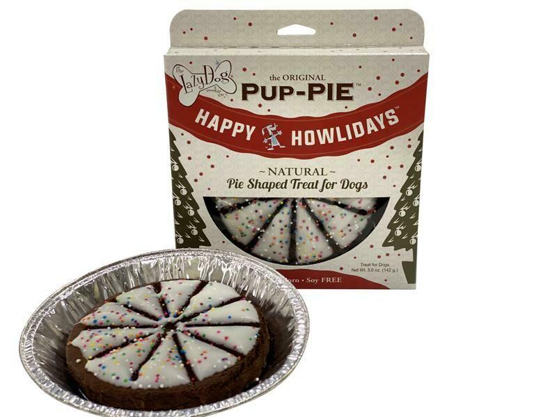 Happy Howlidays Pup Pie - The Lazy Dog