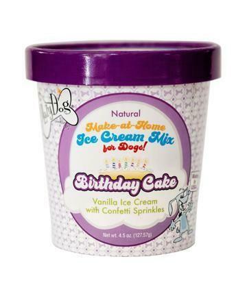 Birthday Cake Ice Cream Mix - The Lazy Dog