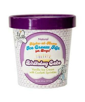 Birthday Cake Ice Cream Mix - The Lazy Dog