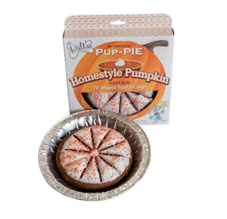 Homestyle Pumpkin Pup Pie - The Lazy Dog