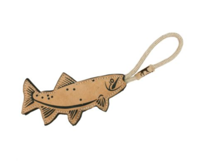 Trout - Natural Leather Toy