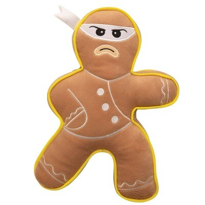 Ninja Ginger Bread Man Toy