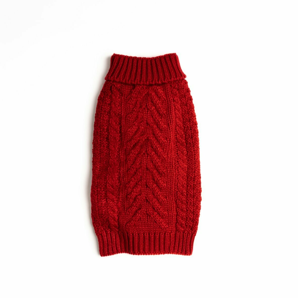 Cozy Chunky Sweater - Red