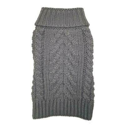Cozy Chunky Sweater - Grey
