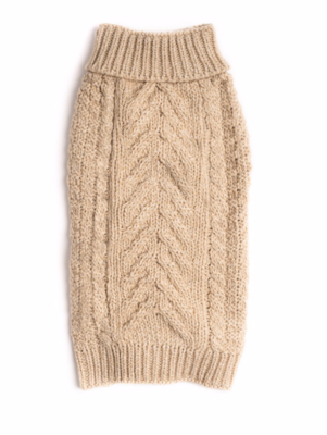 Cozy Chunky Sweater - Oatmeal