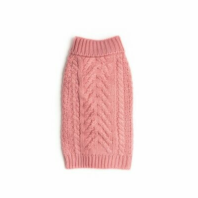 Cozy Chunky Sweater - Pink