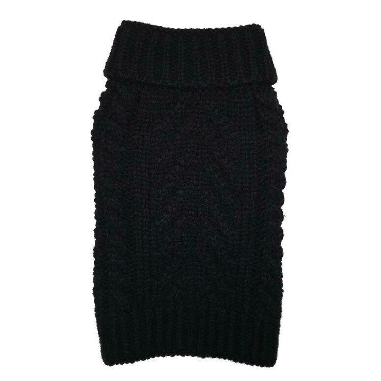 Cozy Chunky Sweater - Black