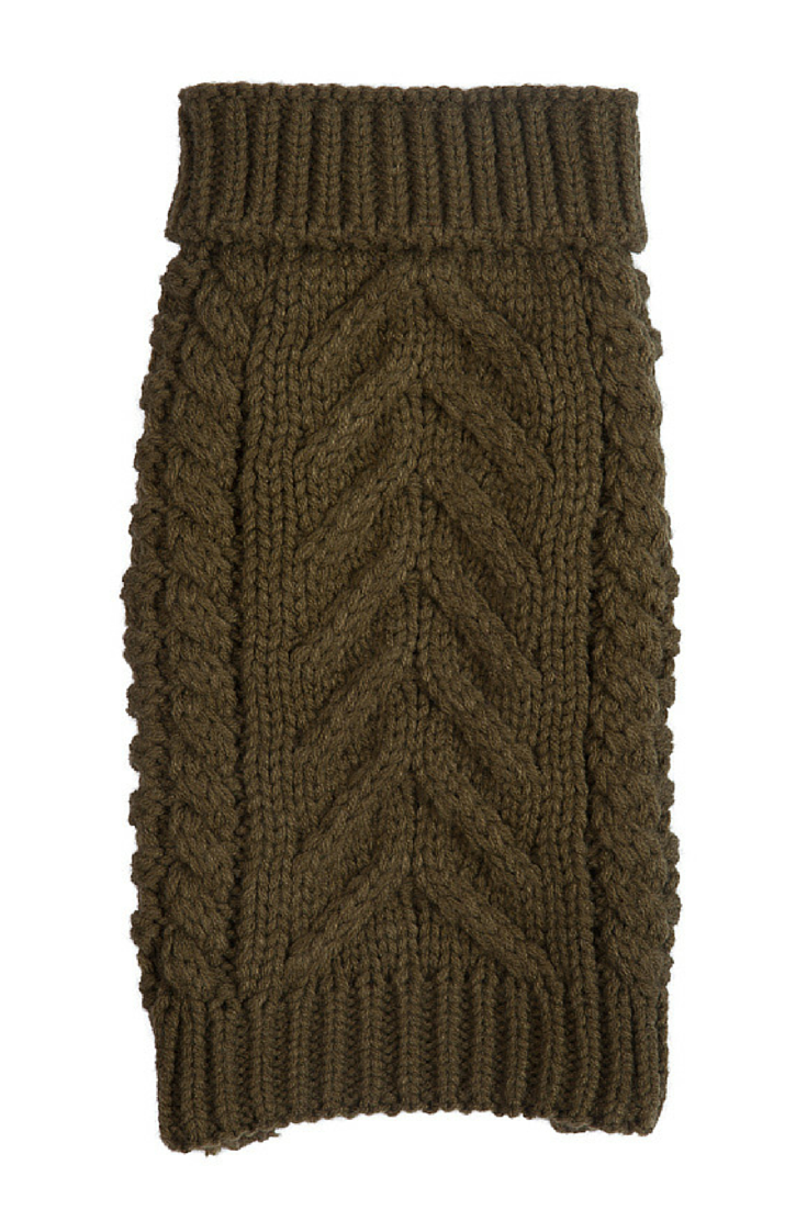 Cozy Chunky Sweater - Olive