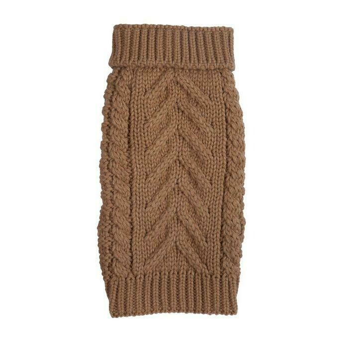 Cozy Chunky Sweater - Camel