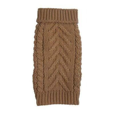 Cozy Chunky Sweater - Camel