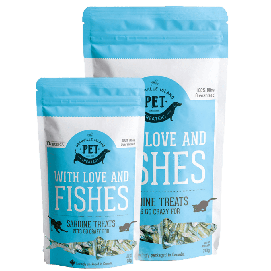 With Love & Fishes - Granville Pet Treatery